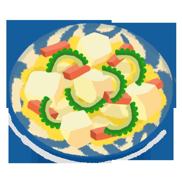 島豆腐チャンプルー・ゴーヤーチャンプルー